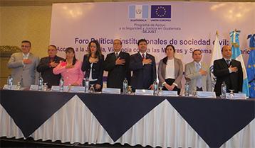 Políticas institucionales de sociedad civil