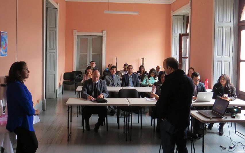 MESA INTERINSTITUCIONAL CONOCE JUZGADO PLURIPERSONAL DE QUETZALTENANGO