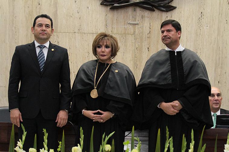Magistrada Silvia Patricia Valdés Quezada fue juramentada y tomó posesión como Presidente del Organismo Judicial y de la Corte Suprema de Justicia