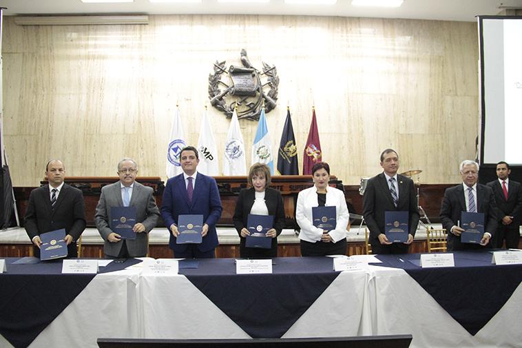 """INSTANCIA COORDINADORA DEL SECTOR JUSTICIA FIRMA CONVENIO """"MARCO DE COLABORACION INTERNACIONAL"""""""